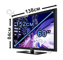 47 дюймов в сантиметрах телевизор ширина ИП, имеющие